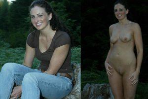 ehefrau nacktfoto draussen urlaubsfoto nackt