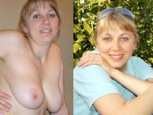 polnische freundin nacktfoto und angezogen