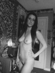 schwarzweiss amateur nacktfoto freundin