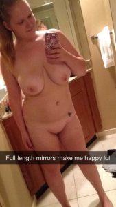 spiegel selfie nackt snapchat