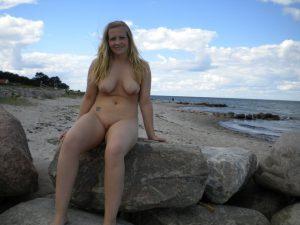 urlaubsfoto nackt privat am strand