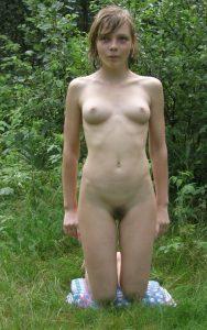 nackt im wald freundin privates foto