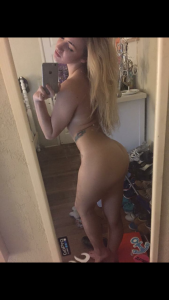 selfie handynackt