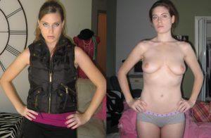 angezogen und nackt fotos