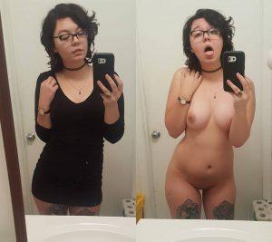 tattoo schlampe selfie nackt